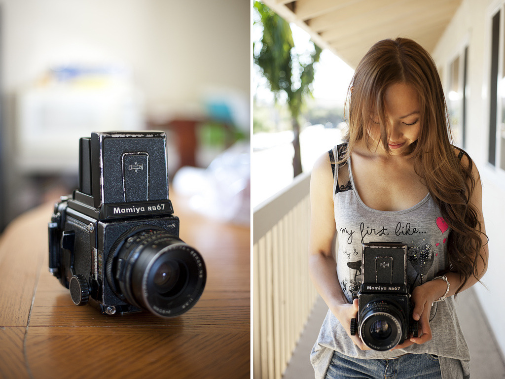Mamiya RB67 (by serend1p1tyx)