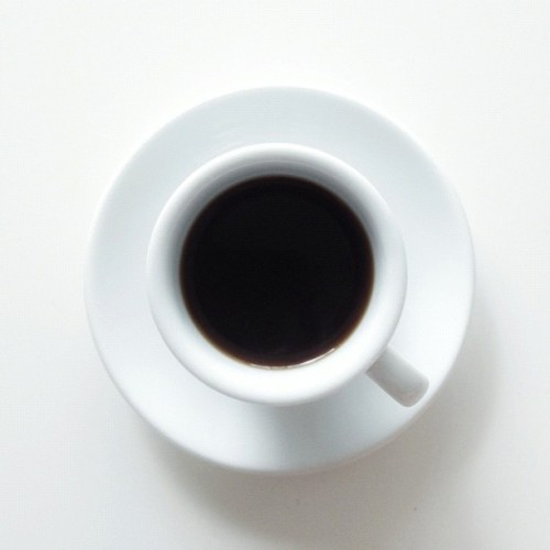 (Double) Espresso. #coffee #rightnow  (Taken with instagram)