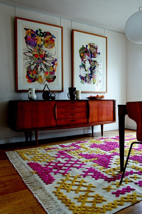 this rug, oh what a gorgeous thing