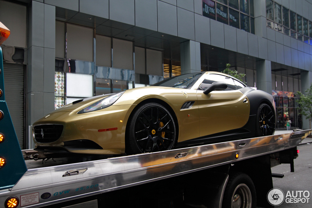 Gumball 3000: California Gold's Ferrari California