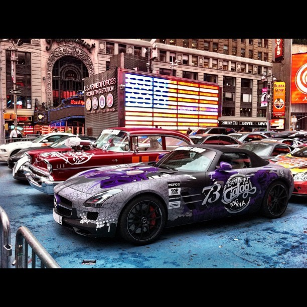 Gumball 3000: Team Galag's Mercedes-Benz SLS Roadsterspellitwithaph: