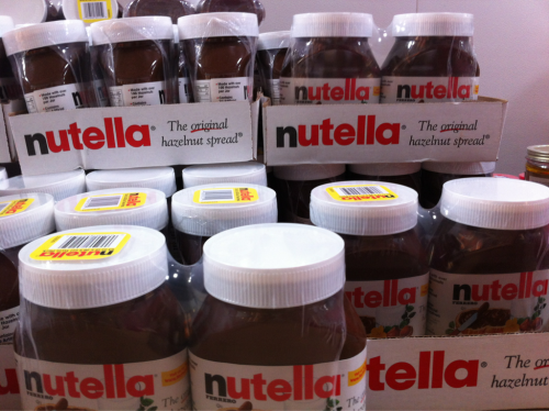Who doesn't love nutella?