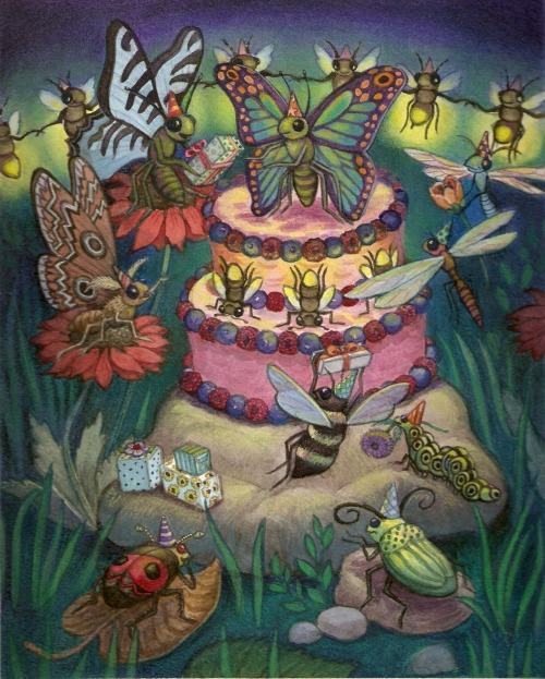 Bug Birthday by me, hoddleypoddley