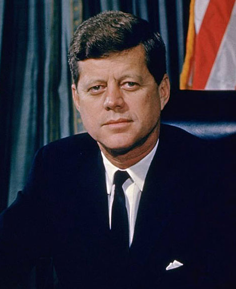"Today is the Anniversary of JFK Challenging the United States to Land a Man on the Moon On April 12, 1961, Soviet cosmonaut Yuri Gagarin became the first person to fly in space, reinforcing American fears about being left behind in a technological competition with the Soviet Union. Kennedy was eager for the U.S. to take the lead in the Space Race for reasons of strategy and prestige. He first announced the goal of landing a man on the Moon in the speech to a Joint Session of Congress on May 25, 1961, stating: ""First, I believe that this nation should commit itself to achieving the goal, before this decade is out, of landing a man on the Moon and returning him safely to the Earth. No single space project in this period will be more impressive to mankind, or more important for the long-range exploration of space; and none will be so difficult or expensive to accomplish."""