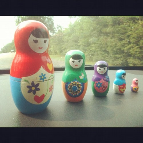 Finally got me a Matryoshka doll! 😊 #toy #Matryoshka (Taken with instagram)