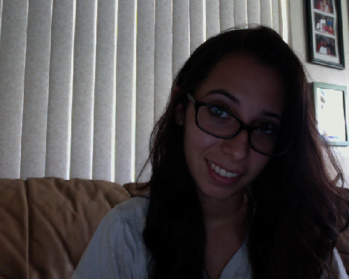 just woke up- who cares? got new glasses && graduation is today! <3