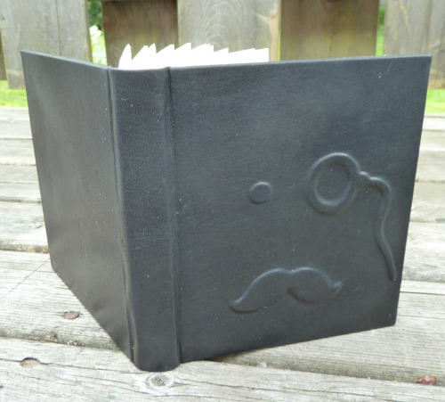 Monocle Leather Journal by Rhonda Miller