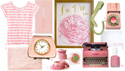 """i want the whole issue pink. i want the whole country pink!"" ~funny face"