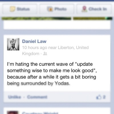 #truth @iamdaniellaw  (Taken with instagram)