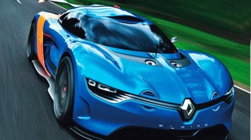 New Renault Alpine A110-50