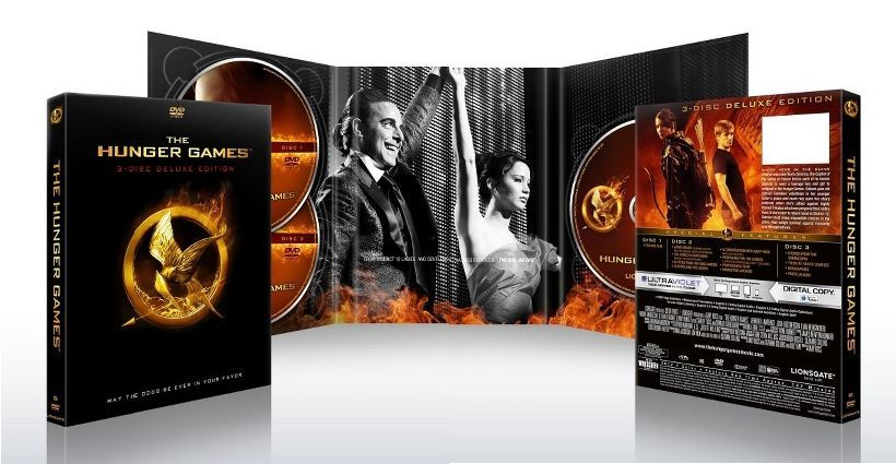 Pre-orders now available for THE HUNGER GAMES on DVD or Bluray … including some exclusive offers from Walmart & Target