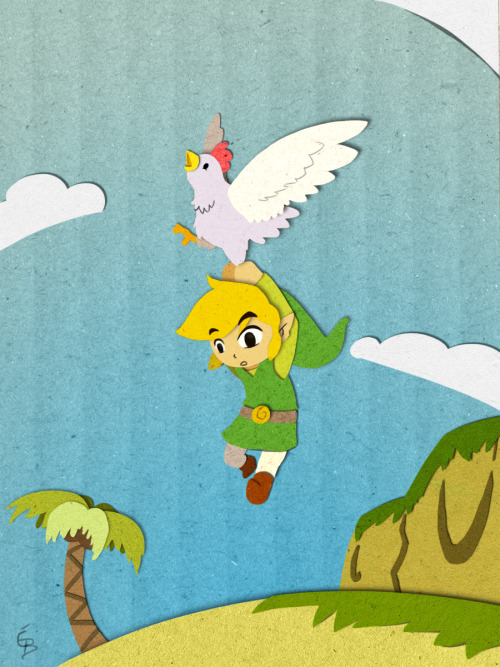 misslime:  A Cucco landing by ~Dark-wings-eagle