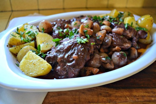 Julia Child's Coq au Vin, from The Little Ferraro Kitchen