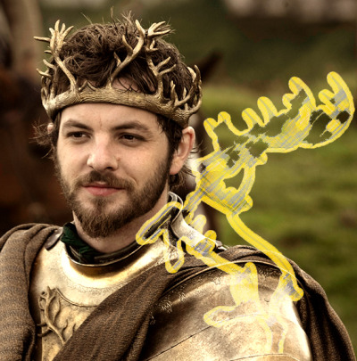 ASOIAF challenge Day 29 - which king (or queen) you'd bend the knee to: Renly Baratheon