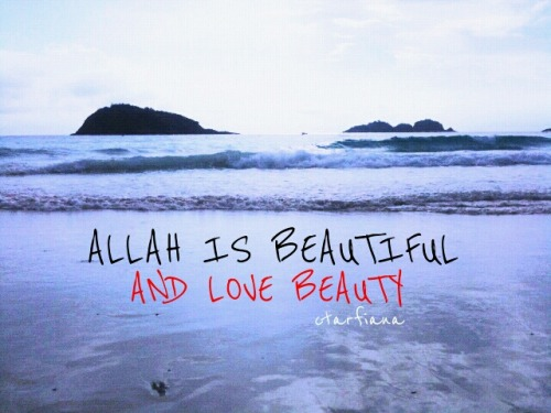 Allah. Beautiful.