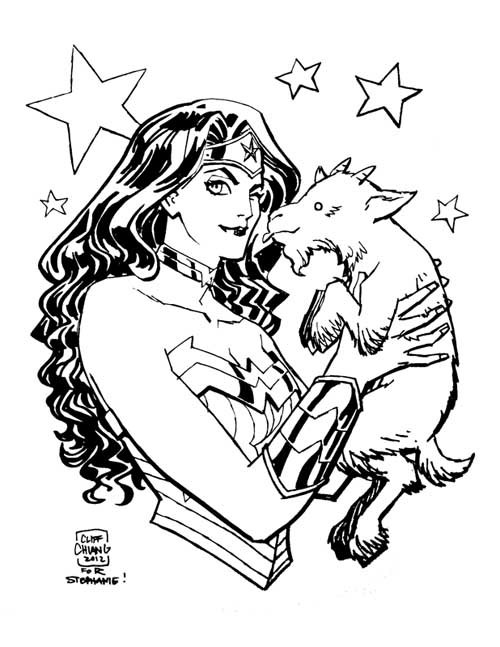 comicartappreciation:  Wonder Woman // Cliff Chiang