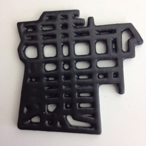 Satin black ceramics (Taken with Instagram at Shapeways HQ)