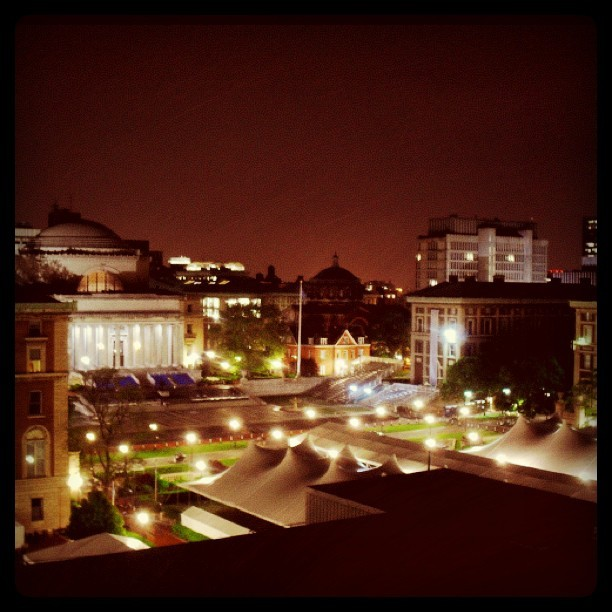 Columbia by night (Taken with instagram)