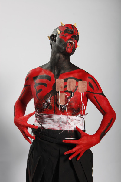 CYBORG DARTH MAUL  |  Model: Ryan  |  Photographer: Jennifer Houghton