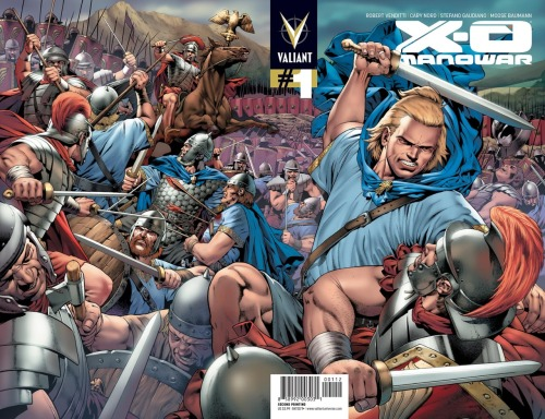 "X-O MANOWAR #1 Posts Massive Sellout, Returns With 2nd Printing Valiant is proud to announce that X-O Manowar #1 has sold out at the distributor level, rocketing through its initial print run of 45,000 copies. Due to demand, Valiant is going back to press on the first issue of the all-new Valiant Universe for the X-O Manowar #1 Second Printing Wraparound Variant – featuring a never-before-seen cover by rising star Arturo Lozzi! ""We've been telling the industry for months that Valiant would have everyone talking in 2012, but these figures have exceeded even our expectations,"" said Publisher Fred Pierce. ""We can't thank the retail community enough for the massive support they've shown us, and this sellout speaks volumes about the amazing job our creators are doing with this series."" From the creative team of New York Times bestselling author Robert Venditti (The Surrogates) and Eisner Award-winning artist Cary Nord (Conan), X-O Manowar #1 is the first title of the publisher's summer 2012 relaunch and heralds a new beginning for one of Valiant's all-time best-selling heroes. And the Summer of Valiant has only just begun! Fans and retailers take note – Harbinger #1 arrives on June 6, and will be followed by Bloodshot #1 on July 11, and Archer & Armstrong #1 on August 8. ""This is an outstanding performance for an independent publisher, especially with a debut title. We look forward to great things from Valiant in the months and years to come,"" said Bill Schanes, VP of Purchasing for Diamond Comic Distributors, Inc. ""The success of this book is due in no small part to Rob and Cary's phenomenal work, and our staff deserves a big round of applause as well,"" said Valiant Chief Creative Officer Dinesh Shamdasani. ""Warren, Fred, and the rest of the team spent months making sure Valiant's return would make as big an impact as possible."" ""Valiant has never underestimated the resonance that its characters have with comics fans around the world,"" added Valiant CEO Jason Kothari. ""X-O Manowar #1 has already taken a lot of people by surprise, and, with Harbinger #1 and Bloodshot #1 just around the corner, this is truly going to be a summer of Valiant."" Now's the time to witness the epic beginning of Valiant's return all over again! Jump onboard the summer's hottest new series when the X-O Manowar #1 Second Printing Wraparound Variant arrives in stores everywhere on June 20th!"