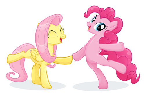 werd10101:  Fluttershy and Pinkie Pie - Everfree NW by =CatWhitney