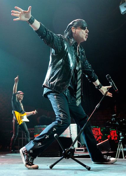 russbengtson:  Klaus Meine of Scorpions ist sehr old today. Looks like he still knows how to have a good time, though.