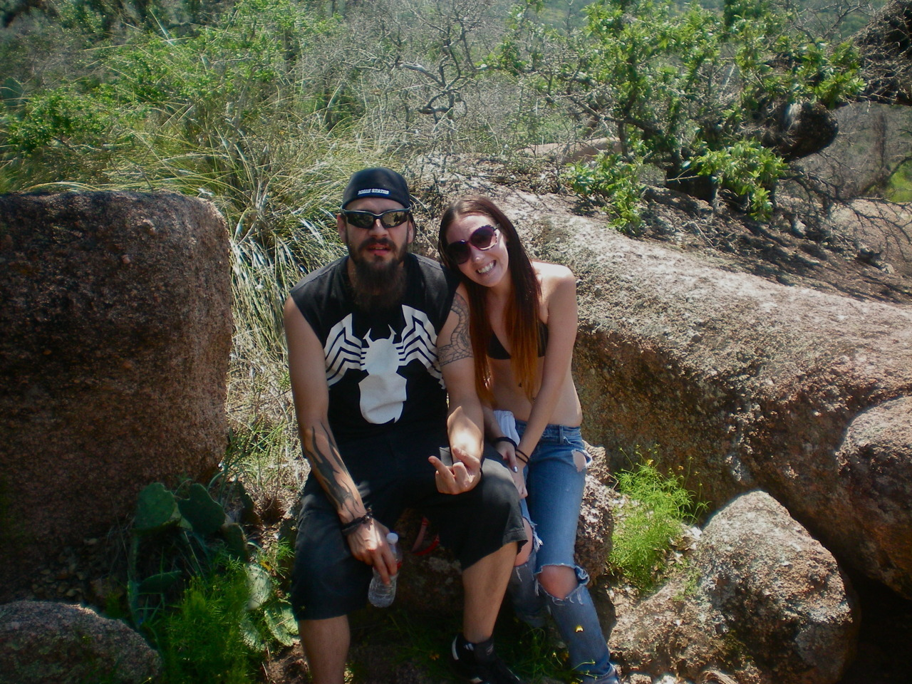 more enchanted rock.. boyfriend and i <3