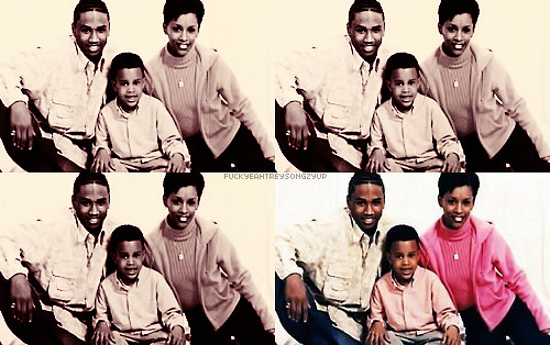fuckyeahtreysongzyupp:  Tremaine, Forrest and Momma April.