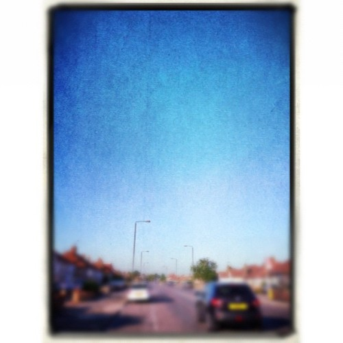 Taste of blue (Taken with Instagram at Bostall Heath)