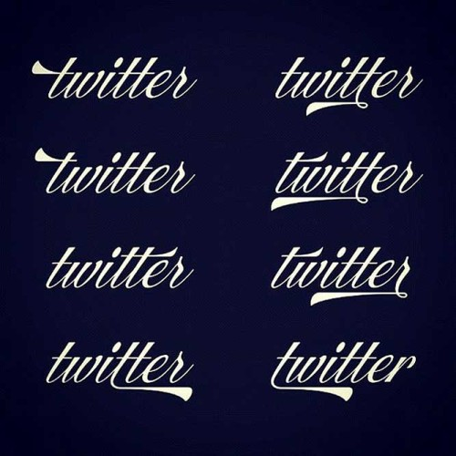 Beautiful Alternate Twitter Logo From The 1920's By Ale Paul