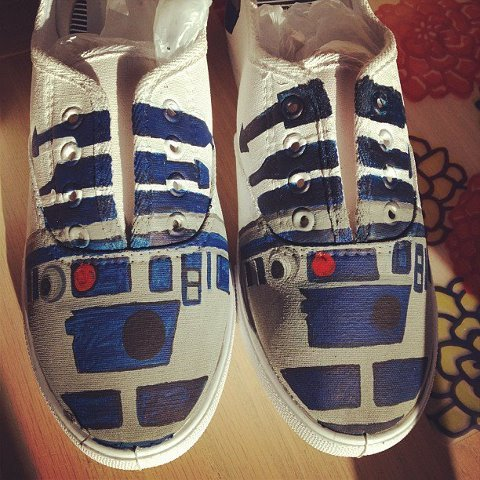 R2!  LIGHTSPEED TO ENDOR!!!!  These were created for Miss Leslie Kay of DisneyBound!