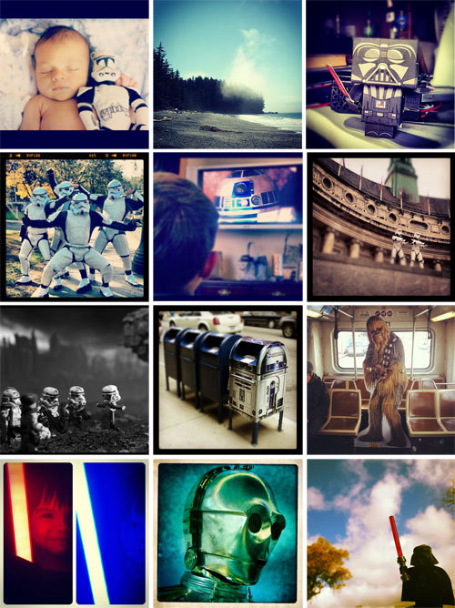 Over 400 images were submitted for our Instagram challenge, #WIREDStarWars. Crowdsourcing celebration, the WIRED way:  Thirty-five years ago Star Wars hit theaters, spawning a pop culture phenomenon that has spanned a generation. So to celebrate, we created a community challenge where our readers can show their interpretation of one of our favorite icons.We created our Instagram account back in March to tell our story in photos, providing a glimpse of what goes on inside and outside the walls of the Wired offices. With the 35th anniversary of Star Wars approaching we thought this was a perfect opportunity to ask you to now share with us. Call it a sort of crowdsourcing celebration.