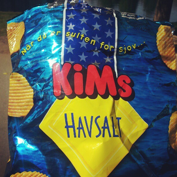 These chips havsalt. (Taken with instagram)