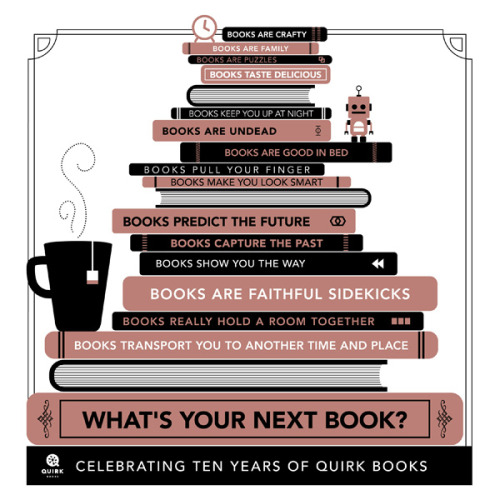 quirkbooks:  What's Your Next Book?