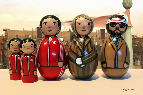 (via The Tenenbaums by dangercatdolls on Etsy)