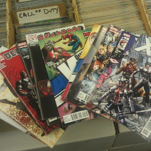 It's a good day. #comics #superheroes #Deadpool #Avengers #XMen #Marvel  (Taken with instagram)