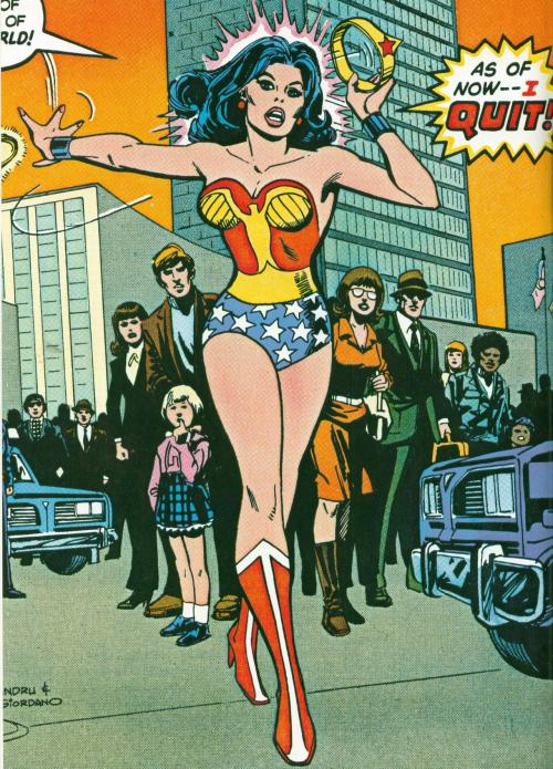 updownsmilefrown:  from Wonder Woman (1st series) #269 July, 1980