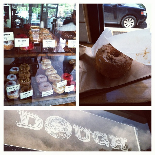Just had a straight up euphoric experience at Dough. (Taken with Instagram at Dough) Edit: My pick was the Cafe aux Lait. Next time the plan is to grab another…plus a Lemon Ginger…AND a Dulce de Leche.