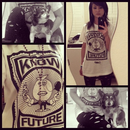 #know Phillip #myweirdlookingdog @aaiigght #limited #tee #future got it at @prdc2010 (Taken with instagram)