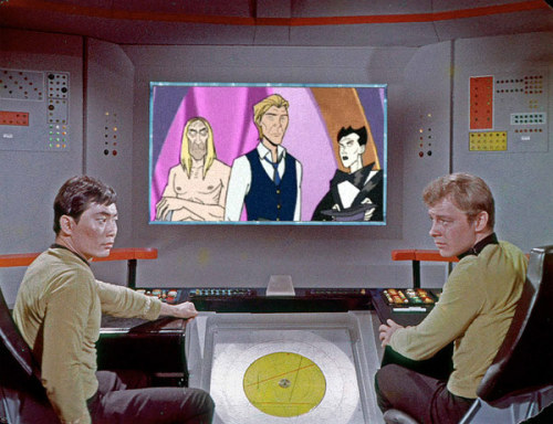 jamesurbaniak:  ontheviewscreen:  What is the Enterprise bridge crew watching today?  Approval.  Don't bother stomping your feet. We don't do encores.