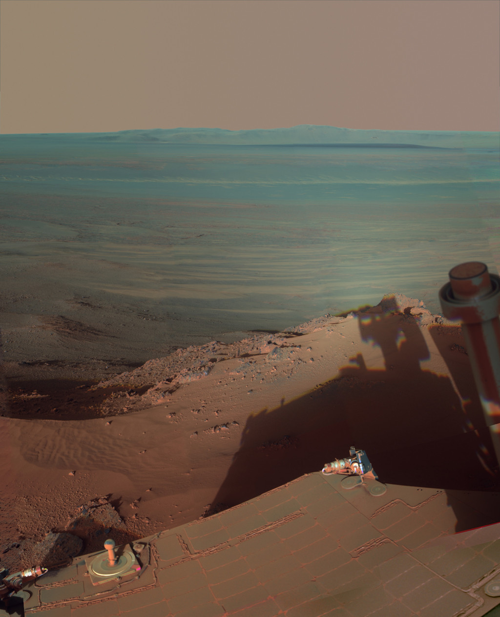 photo from the Mars Rover
