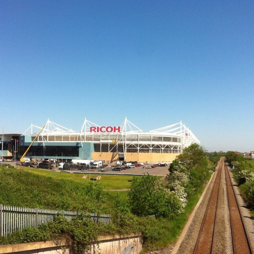 More #olympic #football #live location scouting. @ #RicohArena, #Coventry (Taken with instagram)