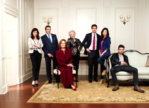 "First look at the cast of your new favorite summer show, ""Political Animals."" Plus, new video here!"
