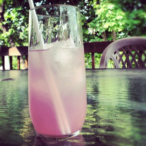 I love you pink lemonade #summerparadise  (Pris avec instagram)