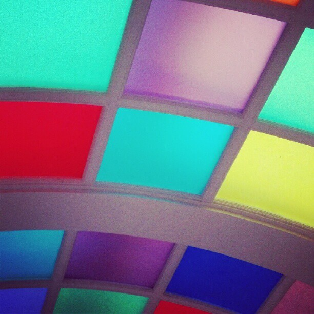 Love the ceiling in the bathroom at Sketch - yes, still .. (Taken with instagram)