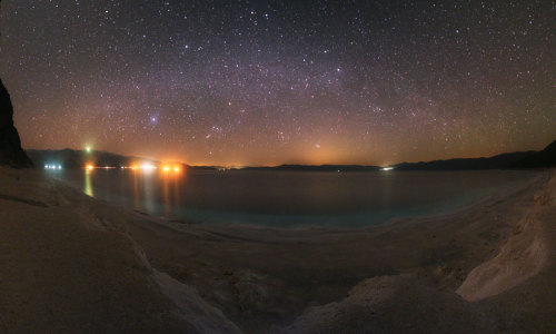 Sky Panorama Over Lake Salda  Credit & Copyright: Tunç Tezel (TWAN)