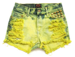 (via High waist shorts S by deathdiscolovesyou on Etsy)