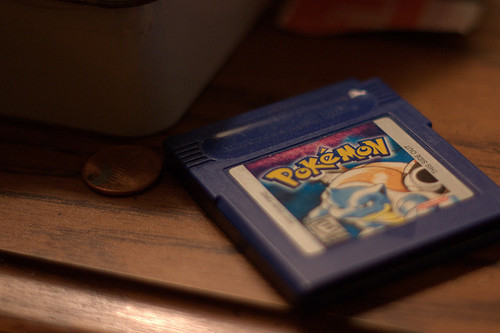 gofuckingnuts:  Pokemon, Blue Edition | Flickr - Photo Sharing! on We Heart It. http://weheartit.com/entry/5222852