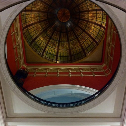 Ceiling in Sydney NSW. Flying to Little Rock today. (Taken with instagram)