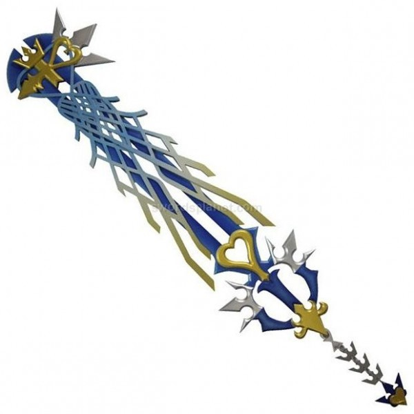 Holy shit they have life-size Keyblades!
